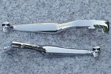 Honda Shadow 600 VT 750 1100 Spirit Magna Sabre RS Phantom CHROME SKULL LEVERS