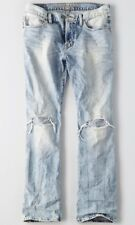 NWT American Eagle Outfitters Men Destroyed Original Bootcut Jeans - 34 X 32