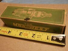 Antique  Spark Plug Box Only Nor-West Giant  Dodge
