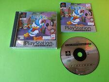Donald Duck Quack Attack - Playstation 1 PS1 PSX PLATINUM