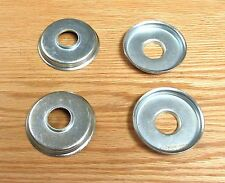 1955 1956 1957 CHEVY FRONT MOTOR MOUNT PAD CUPPED WASHER RETAINERS set of 4