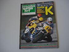MOTOSPRINT 20/1980 PROVA TEST MOTO MALANCA 150 E2C E 2C/SERVIZIO KOSMOS 125 CV