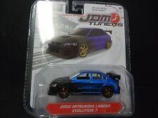 Jada Mitsubishi Lancer Evolution 7 Blue JDM Tuners 14036 W1A 1/64