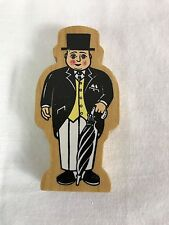Sir Topham Hat Top Man Thomas & Friends the Tank Train Wooden Railway Engine