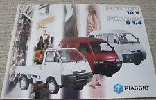 PIAGGIO PORTER brochure italiano commerciali buone condizioni