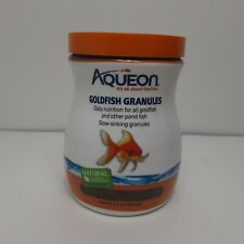 Aqueon Goldfish Daily Nutrition Granules Fish Food Slow Sinking, 5.8 oz