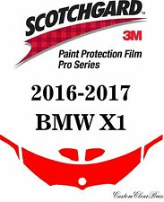 3M Scotchgard Paint Protection Film Clear Pro Series Pre-Cut 2016 2017 BMW X1
