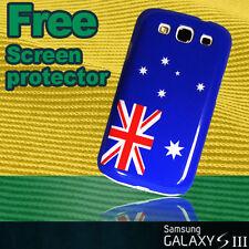 Australia Aussie Flag Hard Case + Sp for Samsung Galaxy s3 i9300 Stylish cover