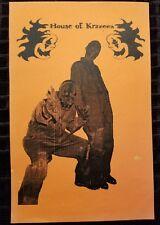 House of Krazees - Promo Flyer twiztid insane clown posse esham horrorcore HOK