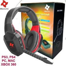 Universal Wireless Gaming Stereo Headset - PS3 PS4 XBOX 360 PC FREE SHIPPING GD