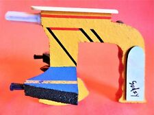 "VINTAGE 1984 ""SUDZY"" RAY GUN/ Hand Made/Chipboard and Plastics/ 8&1/4""x6&1/2""x5"""
