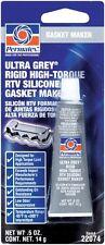 Permatex Ultra Grey RTV Silicon Silicone Gasket Maker Sealant 14g