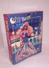 "Vintage Mattel Barbie 100 Piece Golden Puzzle Sealed 11.5"" x 15"" Never Opened"