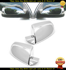 For 2011-2017 GMC Terrain Chrome Mirror Cover Overlays Trims Top Half Only 12 13