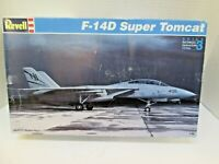 REVELL F-14D SUPER TOMCAT 1/48 1:48 Fighter Navy Model Kit # 85-4729 Open box
