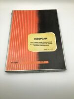 Vintage Partial Box ESCOPLAN Black 1442 Carbon Paper USA  N6
