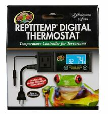 Zoo Med ReptiTemp Digital Thermostat Temperature Controller for Terrariums