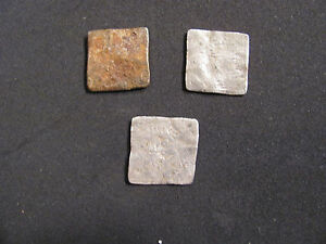 RARE Lot 3 silver ALMOHAD Islamic/Spain. Al-Andalus mint XII - XIII cent. A.D.