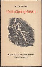 Paul Ernst: Troubadourgeschichten (illustriert)   1940