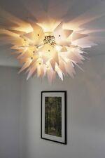 Plafonnier moderne Lustre Lampe suspension Lampe de salon Métal/Plastique 49847