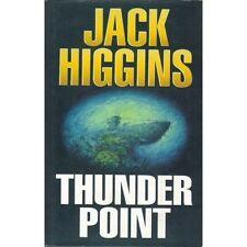 Thunder Point by Jack Higgins (1993, Hardcover)