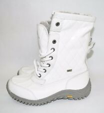 item 2 - UGG® Adirondack II Quilted Boots WATERPROOF SNOW WINTER WHITE Leather 7 (UG4)