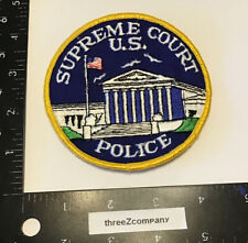 Vtg United States Supreme Court Police Patch