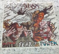 HIRAX - Hate, Fear And Power SEALED LP VINYL RECORD - CUT OUT - 1986 METAL BLADE