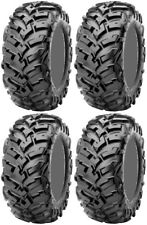 Four 4 Maxxis Vipr ATV Tires Set 2 Front 27x9-14 & 2 Rear 27x11-14