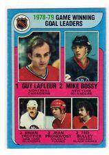1X GUY LAFLEUR 1979 80 Topps  #7 Montreal Canadiens BOSSY Trottier Pronovost