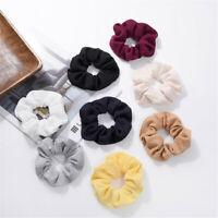 Women's Elastic Hair Rope Ring Tie Scrunchie Ponytail Holder Hair Band Headband