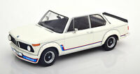 BMW 2002 TURBO E20 1973 WHITE VERY NICE 1:18 SCALE MODEL IDEAL DISPLAY PIECE.