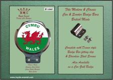 Royale Classic Car Badge /& Bar Clip COUNTY of HAMPSHIRE B1.1079