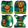 Modern Cloth Reusable Washable Baby Nappy Diaper & Insert, CUTE LION