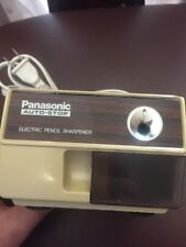 Vintage Panasonic Auto Stop Electric Pencil Sharpener TESTED Model KP-110