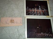 3pcLOT 1971 RAY SADECKI NY METS SIGNED AUTOGRAPH PHOTOS PAPER POLAROID PICTURES