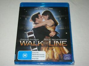 Walk The Line - Reese Witherspoon - Brand New & Sealed - Region B - Blu Ray