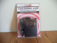 Personal Alarm - 3 in 1 130db Personal Alarm With Light and Door Accessory