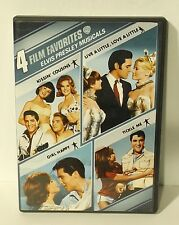 4 Film Favorites - Elvis Presley Musicals (DVD, 2008) Kissin' Cousins Girl Happy