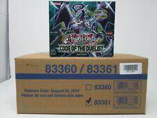 El código de Yugioh Duelist 1ST edición Booster Caja Precintada