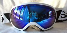 NEW $120 Scott Womens Off Grid Winter White Snow Ski goggles Ladies Roxy Blue