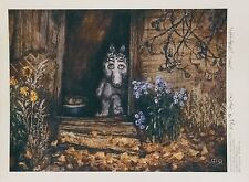 Tale of Tales Norstein's/Norshteyn hand-signed  high quality print (Old House)