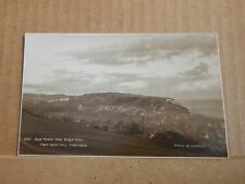 Postcard Hastings Old Town And East Hill real photo posted 1927 XC3