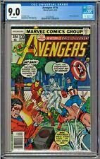 Avengers #170 CGC 9.0 White Pages Jocasta app George Perez