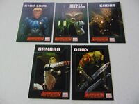 GUARDIANS OF THE GALAXY MARVEL NOW 5 CARD PROMO SET RARE!!!! HC2202