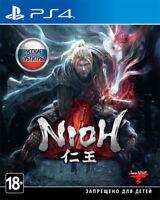 Nioh (PS4, 2017) Eng,Russian,French,Italian,German,Portuguese,Spanish,Polish