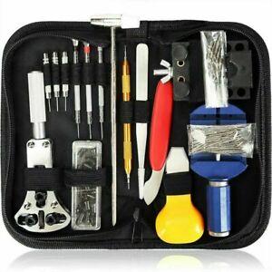 147 Pcs Watch Band Case Remover Back Opener Screwdriver Repair Tool Kit