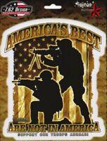 Aufkleber 7.62 Design America's Best 14x16,4cm Yujean Soldier Military Sticker