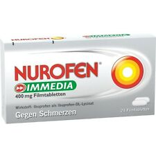 NUROFEN Toujours faire glisser 400 mg comprimés pelliculés 24 pièces PZN 8794459