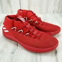 Adidas Dame 4 Mens Size 15 Scarlet Red Basketball Shoes